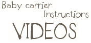 baby carrier instructions video